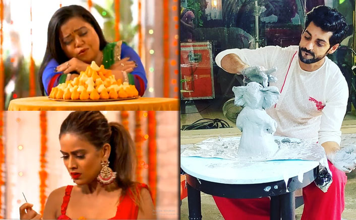 Khatron Ke Khiladi Made In India: Karan Wahi, Bharti Singh, Nia Sharma & Others Raise Their Spirit With Ganpati Celebrations!