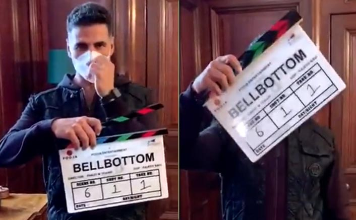 Lights, Camera, Mask On and Action! Pooja Entertainment's Bellbottom shoot begins following all the new norms