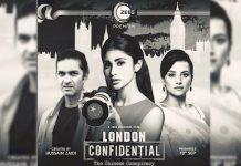 'London Confidential' an espionage saga about conspiracy to spread an infection