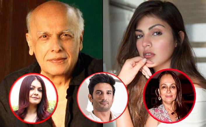 "Mahesh Bhatt-Rhea Chakraborty Row: Soni Razdan & Daughter Pooja Bhatt DEFEND Viral Chats, Call Them ""Fabricated Spin-Offs"""