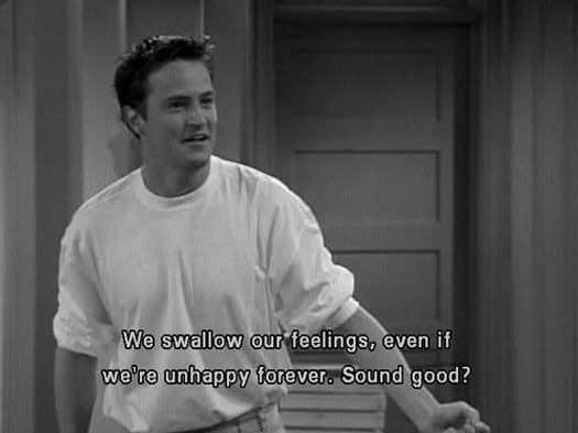 Pictures credit: Matthew Perry in a still from FRIENDS/NBC