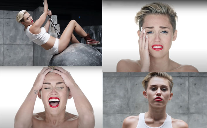 """Miley Cyrus Celebrates 7th Anniversary Of Her Song Wrecking Ball; """"The Music Had More Depth Than The Nud*ty"""""""