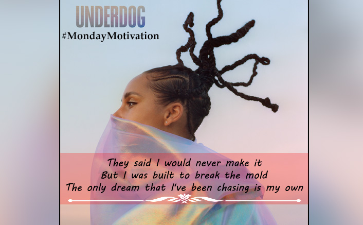 #MondayMotivation: Alicia Keys' 'Underdog' Is Exactly The Kind Of Inspiration You Need To Kick-Start Your Week With!