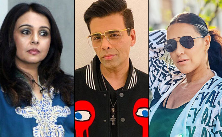 Neha Dhupa reacts after Suchitra Krishnamoorthi calls her Karan Johar's bestie