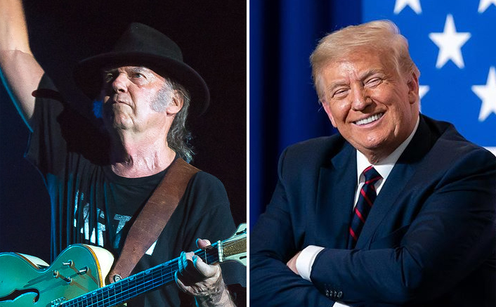 Neil Young Sue President Donald Trump For Copyright Infringement At Political Events