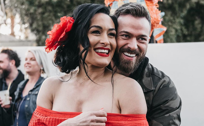 Nikki Bella Congratulates Fiancé Artem Chigvintsev For His Dancing With The Stars' Return In The Best Possible Way!