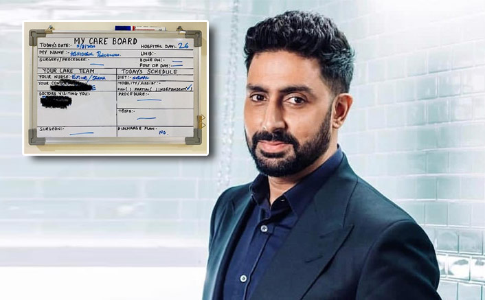 Abhishek Bachchan To Stay In Hospital For Little Longer As There Are 'No' Discharge Plans As Yet(Pic credit: Instagram/bachchan)