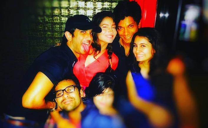 #Nostalgia: Sushant, Ankita, Mahesh Shetty, Kushal Zaveri in one frame