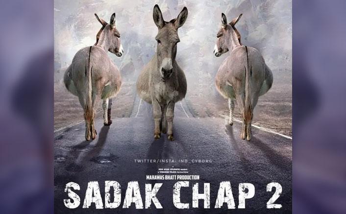 Sadak 2: Parody Poster Of Mahesh Bhatt's Film Ft. 3 Donkeys Go Viral