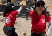 Preity hones shooting skills under 'John Wick' trainer