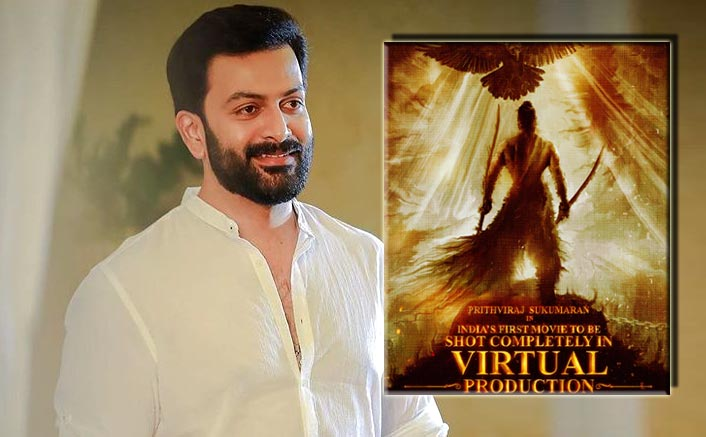 Prithviraj Sukumaran Teases Fans With The Poster Of India's First Virtually-Shot Film