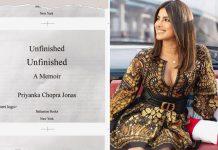 Priyanka Chopra tweets to confirm her memoir is ready in print