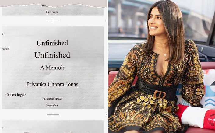Priyanka Chopra's Memoir Unfinished Is All Set To Roll Out, Are You Excited?