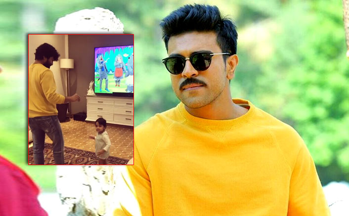 Ram Charan Grooves On 'Baby Shark' With His Toddler Niece Will Beat Your Mid-Week Blues