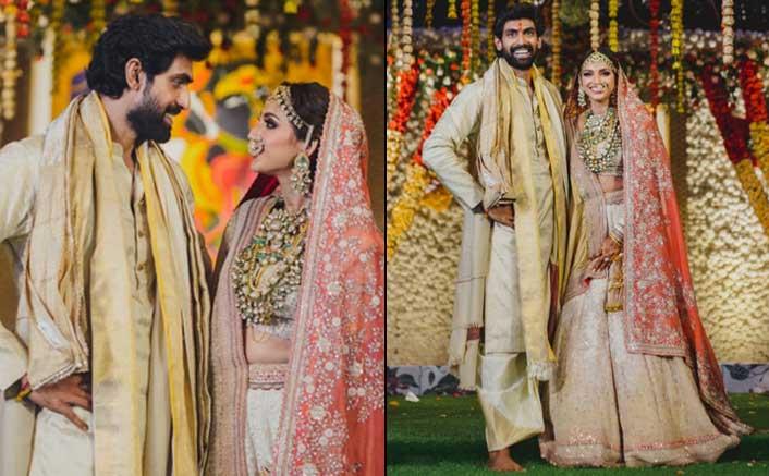 Rana Daggubati & Miheeka Bajaj Get Hitched In A Star Studded Affair; Pictures Inside
