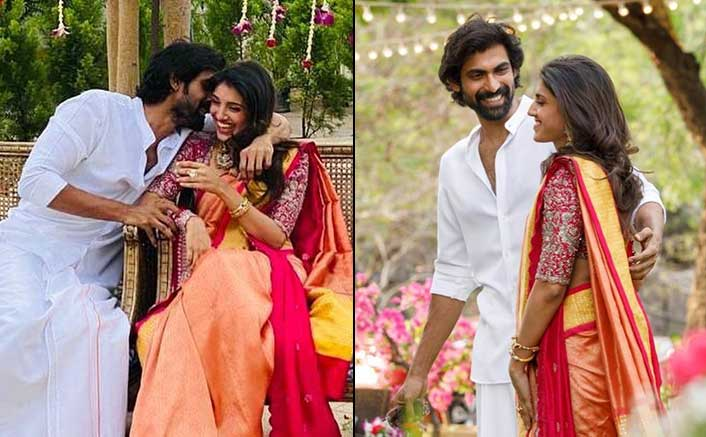 Rana Daggubati's Bride-To-Be Miheeka Bajaj Gleams In Her Haldi Outfit