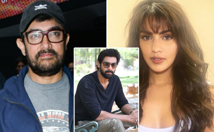 Rhea Chakraborty Called Sushant Singh Rajput's PK Co-Star Aamir Khan Thrice & Rana Daggubati 7 Times!