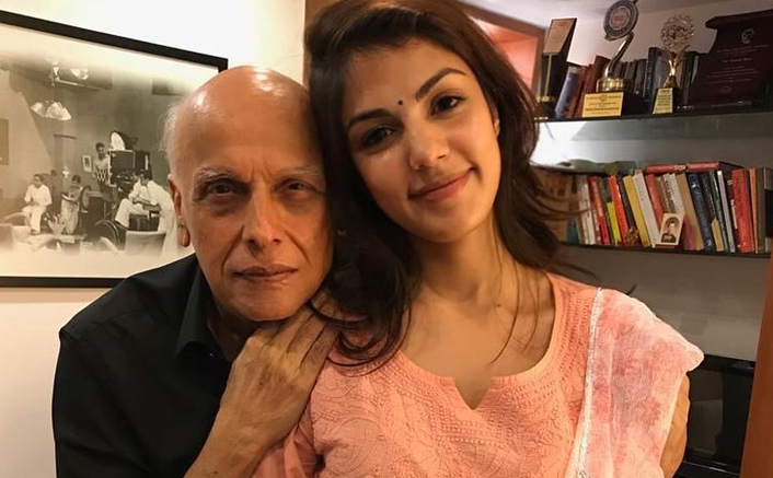Rhea Chakraborty Lands In A Soup After An Old Video With Mahesh Bhatt Goes Viral