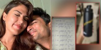 """Rhea Chakraborty LEAKS Page From Sushant Singh Rajput Written Diary, Says It's """"The Only Property I Possess"""""""