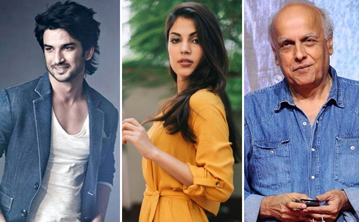 Rhea Chakraborty Made A LOT Of Calls To Mahesh Bhatt Post Leaving Sushant Singh Rajput's Residence On 8th June?
