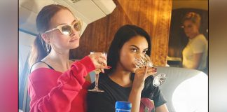 Riverdale's Camila Mendes Carrying Two Wine Glasses With Co-star Madeline Petsch Is Major A Wednesday MOOD!