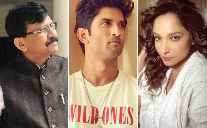 Sanjay Raut Questions Reason Behind Ankita Lokhande BreakingUp With Sushant Singh Rajput; Says Late Actor Was Not Happy With Father'sSecond Marriage(Pic credit: Instagram/sushantsinghrajput, sanjay___raut, lokhandeankita)
