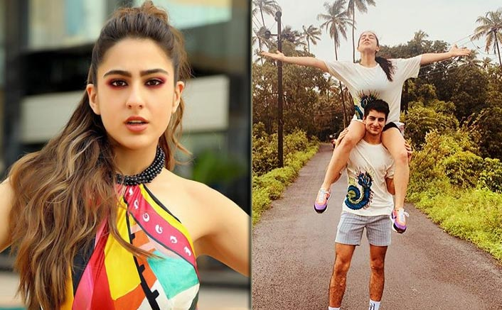Sara Ali Khan Bribed & Begged Her Brother Ibrahim To Join Her Tribe
