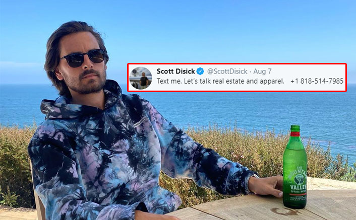 Scott Disick Shares His Number On Twitter AGAIN, Is His Account Hacked Or Is A Way To Connect With Fans?(Pic credit: Instagram/letthelordbewithyou)