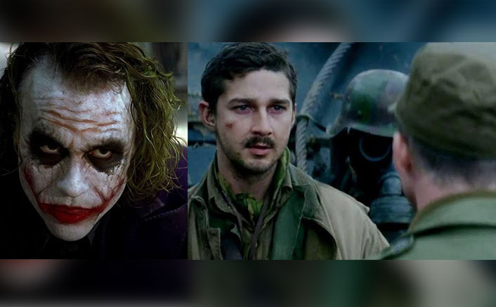 Shia LaBeouf Once Gave 'Joker' Feels When He Scarred Himself On The Face For Brad Pitt's Fury