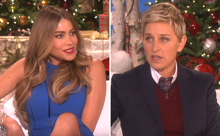 """Sofia Vergara REACTS To Being Another Victim Of Ellen DeGeneres: """"I Was Always In On The Joke"""""""