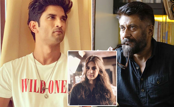 Sushant Singh Rajput Case: Vivek Agnihotri Defends Rhea Chakraborty Says, 'Powerful People' Are Being Saved