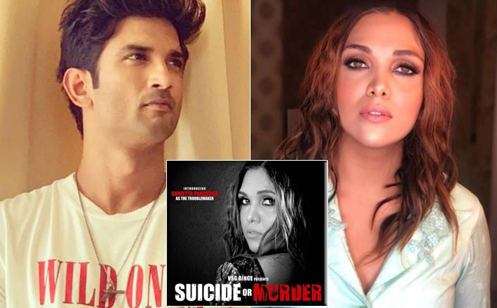 "'Suicide Or Murder' Actress Shwetta Parashar Supports Sushant Singh Rajput, Says ""This Film Is A Movement Against Bollywood Mafias"""