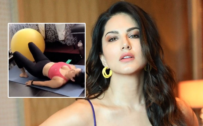 Sunny Leone reveals the workout regime she never finds easy