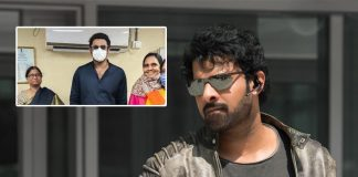 Super Star Prabhas Steps Out For Personal Work, Obliges Fans With Selfies