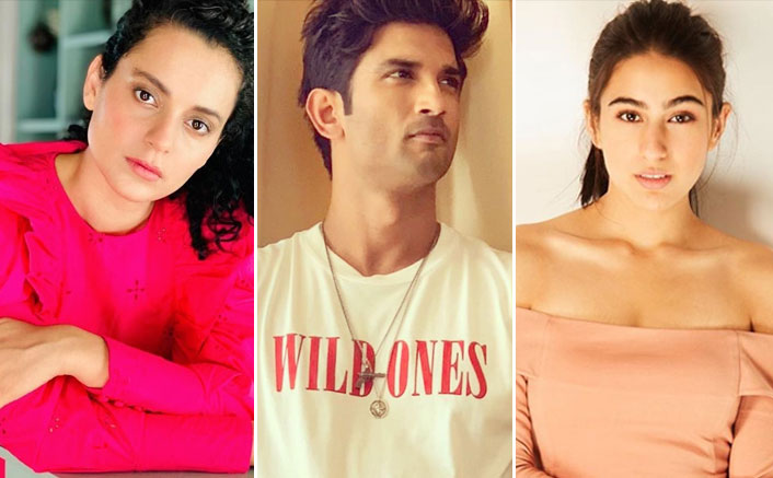 """Sushant Singh Rajput Case: Kangana Ranaut HITS Sara Ali Khan & Says, """"Why These Fancy Nepotism Kids Show Dreams To Vulnerable Outsiders?""""(Pic credit: Instagram/team_kangana_ranaut, sushantsinghrajput, saraalikhan95)"""