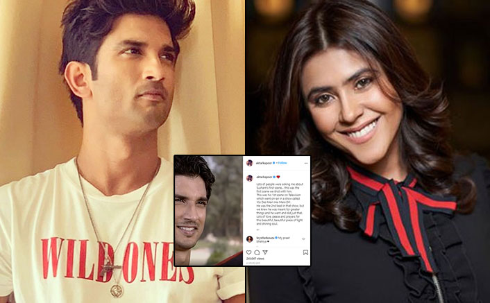 Sushant Singh Rajput's FIRST Ever Shot From TV Debut Shared By Ekta Kapoor, Goes Viral In No Time!