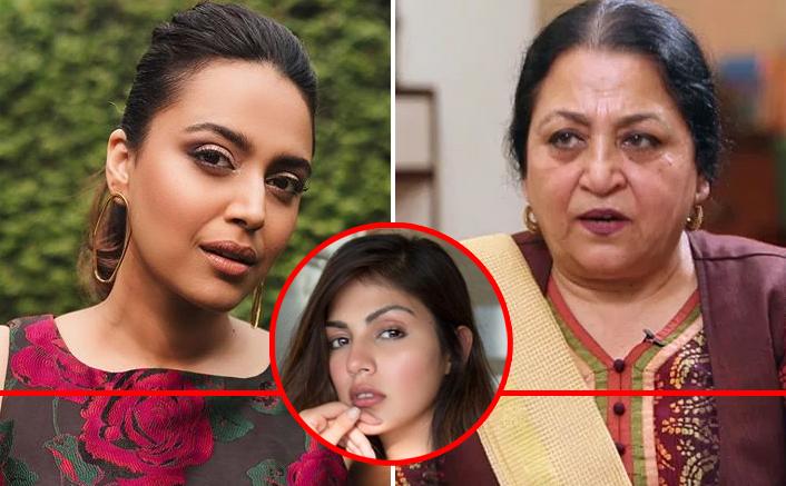 Swara Bhasker SLAMS Madhu Purnima Kishwar For Calling Rhea Chakraborty A 'Fortune Huntress, Mafia Moll'