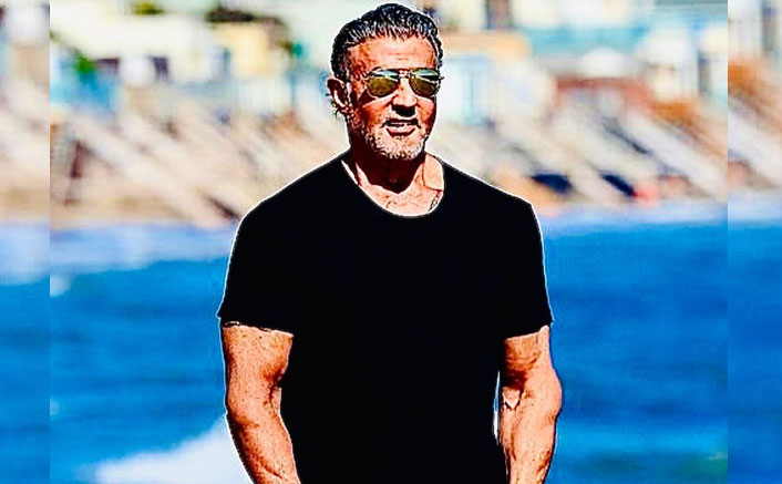 Sylvester Stallone's Beach Day With Wife & Kids Is The Monday Motivation We All Need