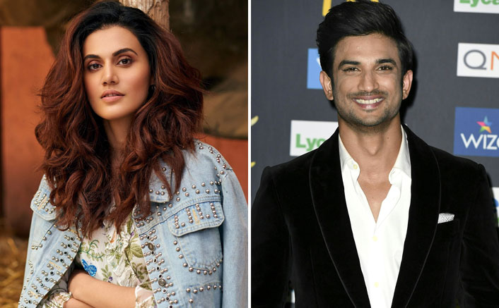 """Taapsee Pannu On Sushant Singh Rajput Case: """"Conspiracy Theories Are Being Thrown All Over The Place"""""""