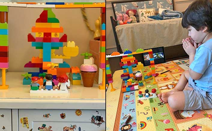 Taimur Ali Khan's DIY Ganpati Idol Is Made Of Legos & We Are Sure It's The Best You Would Ever See