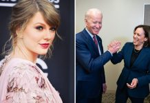 Taylor Swift Congratulates Kamala Harris on being Joe Biden's Pick For His Running Mate In 2020 Presidential Election