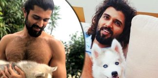 Vijay Deverakonda posts picture with his 'cute beast'