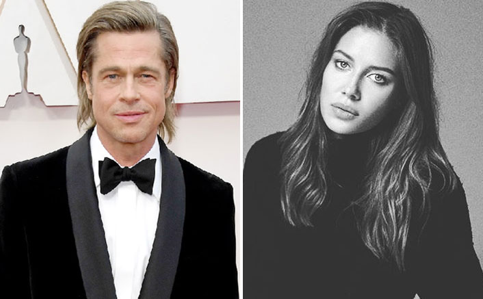 WHAT! Brad Pitt's New GF Nicole Poturalski Is In An Open Marriage, Also Has A Son