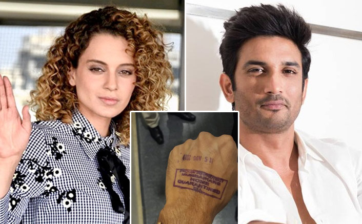 "Kangana Ranaut's Team To Mumbai Police On Forcefully Quarantining Vinay Tiwari: ""What Is This Gunda Raaj?"""