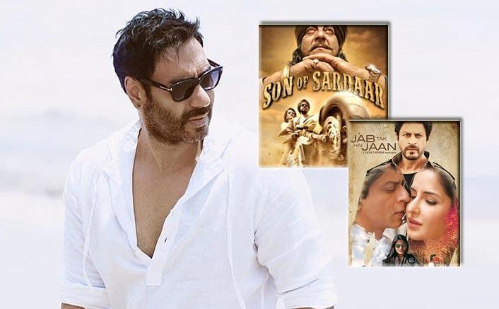 When Ajay Devgn TROLLED A Reporter Over The Clash Of Son Of Sardaar & Shah Rukh Khan's Jab Tak Hai Jaan