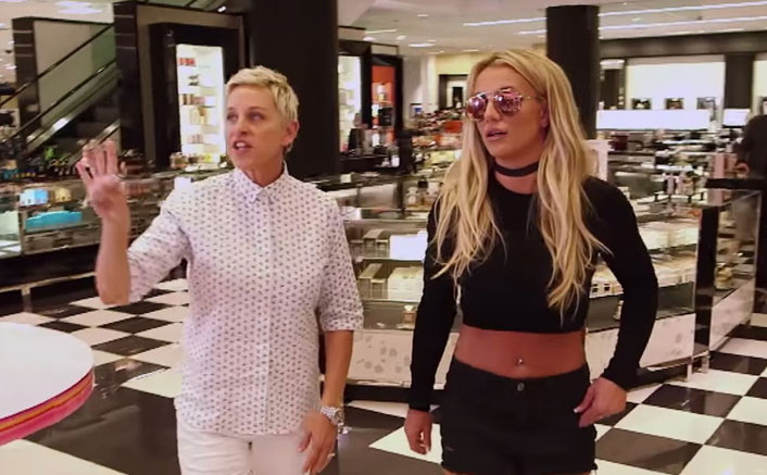 When Ellen DeGeneres & Britney Spears RAIDED The Mall Together & Showed-Off Their Celebrity Status; Watch