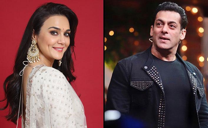 Preity Zinta Was A Bit Scared Of Salman Khan While Starting The Shoot Of Har Dil Jo Pyar Karega