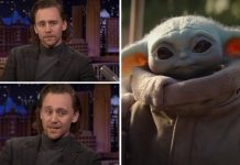 When Tom Hiddleston AKA Loki Cried While Talking About Baby Yoda, WATCH