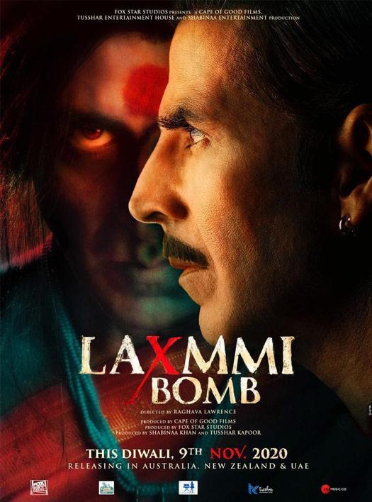 Akshay Kumar's Laxmmi Bomb New Poster
