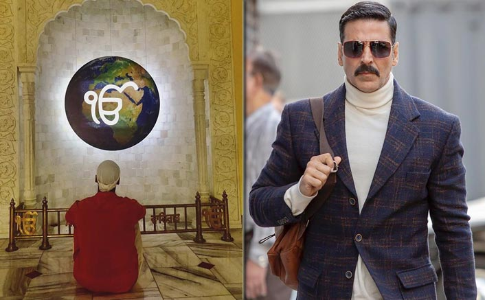 Akshay Kumar Visits Gurudrawa In The UK After Taking A Break From 'Bell Bottom' Shoot